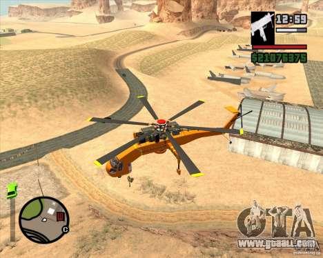 Skylift for GTA San Andreas