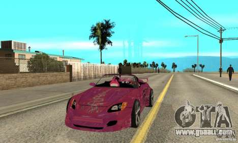 Honda S2000 The Fast and Furious for GTA San Andreas