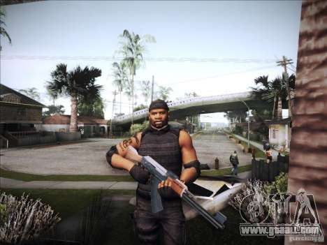 The Expendables for GTA San Andreas fifth screenshot