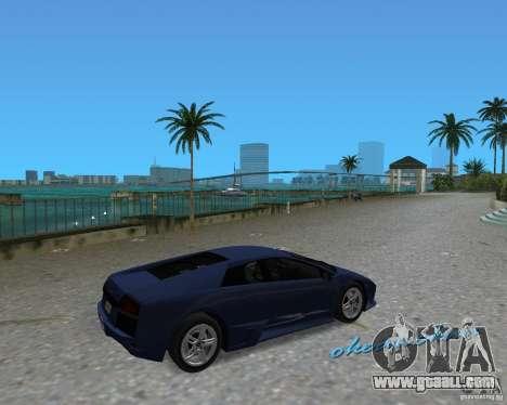 Lamborghini Murcielago LP640 for GTA Vice City left view