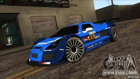 Gumpert Apollo for GTA San Andreas wheels