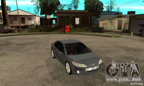 Peugeot 407 for GTA San Andreas back view