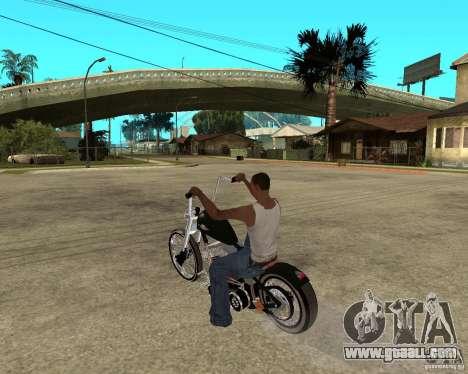 C&C chopeur for GTA San Andreas left view