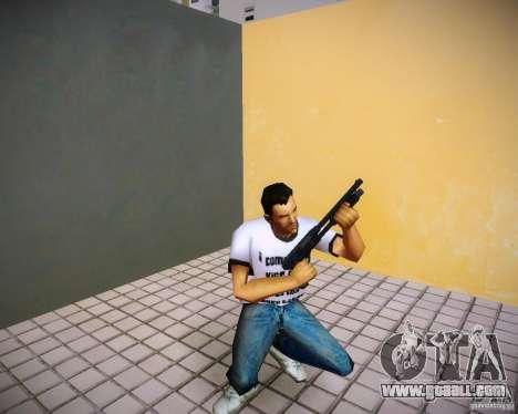 Pak weapons of GTA4 for GTA Vice City forth screenshot