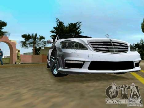 Mercedes-Benz S65 AMG 2012 for GTA Vice City back left view