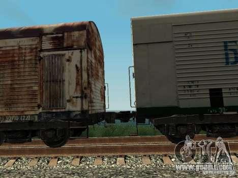 Refrežiratornyj wagon Dessau No. 4 Rusty for GTA San Andreas back view