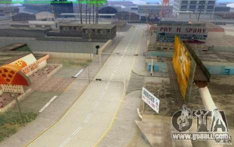 Concrete roads of Los Santos Beta for GTA San Andreas eleventh screenshot