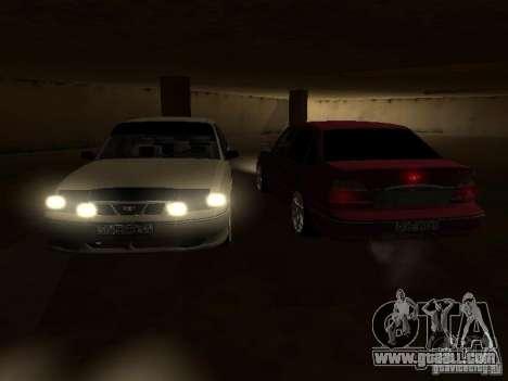 Daewoo Nexia for GTA San Andreas interior
