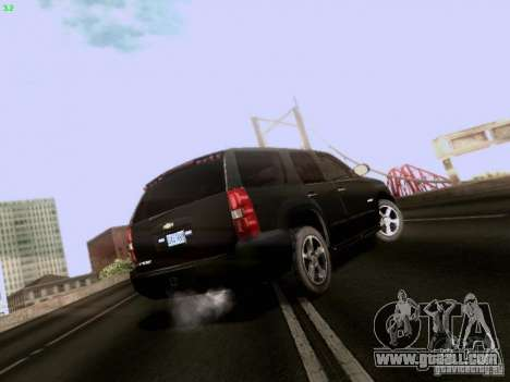 Chevrolet Tahoe 2009 Unmarked for GTA San Andreas right view