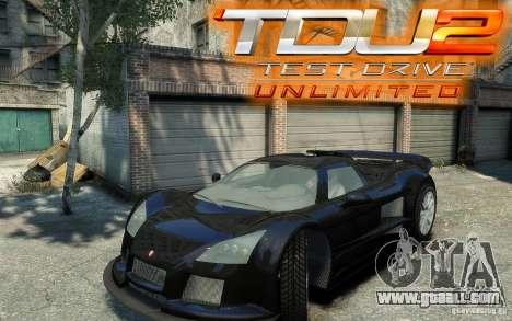 Gumpert Apollo Sport for GTA 4 back left view