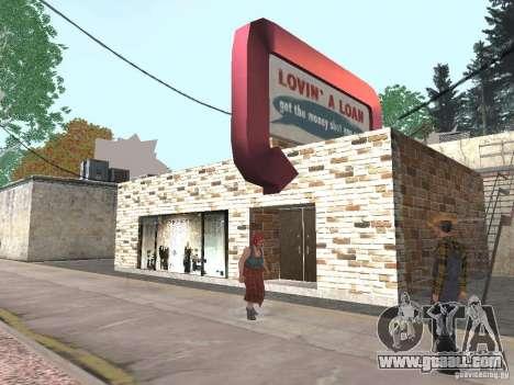 Modified Angel Pine village for GTA San Andreas third screenshot