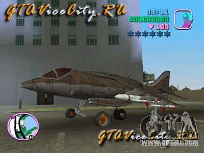 Harrier for GTA Vice City
