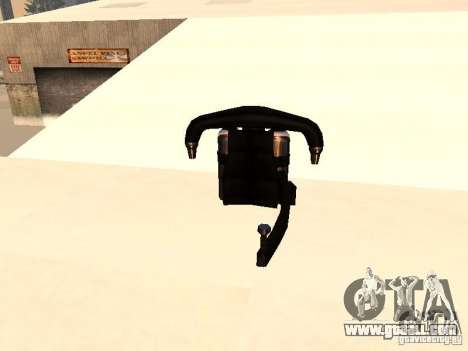 A new Jetpack for GTA San Andreas second screenshot
