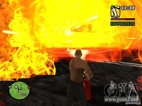 New fire extinguisher for GTA San Andreas third screenshot