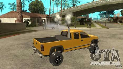 Chevrolet Silverado 2500 Lifted for GTA San Andreas right view