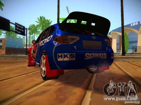Subaru Impreza WRX STi N14 Rallycross for GTA San Andreas side view