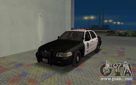 Ford Crown Victoria Police Interceptor LSPD for GTA San Andreas