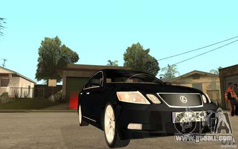 Lexus GS430 2007 for GTA San Andreas back view
