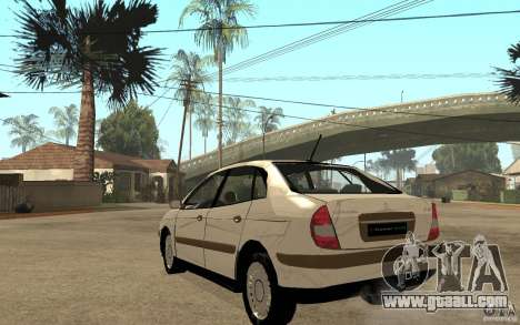 Citroen C5 HDI for GTA San Andreas back left view