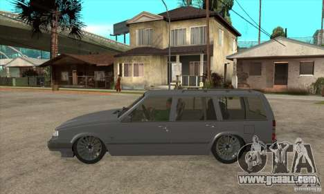 Volvo 945 Wentworth R for GTA San Andreas left view