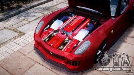 Ferrari 599 XX for GTA 4 inner view