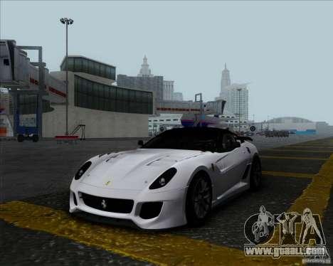 Ferrari Challenge-2009 599XX for GTA San Andreas
