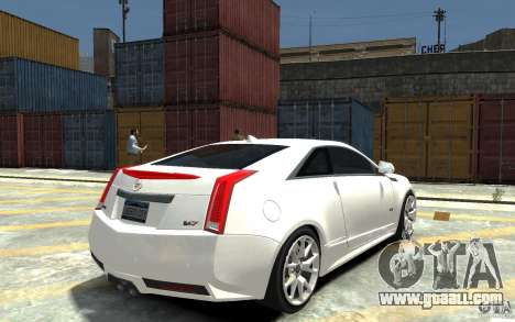 Cadillac CTS-V Coupe 2011 v.2.0 for GTA 4 right view