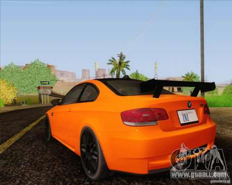 BMW M3 GT-S for GTA San Andreas left view