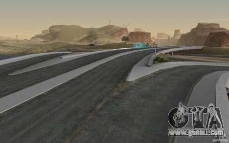 HD Road v 2.0 Final for GTA San Andreas fifth screenshot