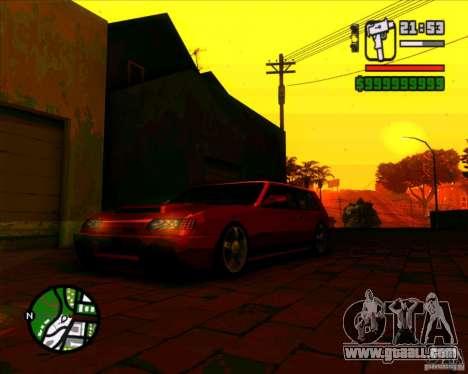 New headlights and windscreen for GTA San Andreas