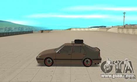Saab 9000 GT Drifting 1998 for GTA San Andreas left view