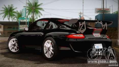 Porsche 911 GT3 for GTA San Andreas left view