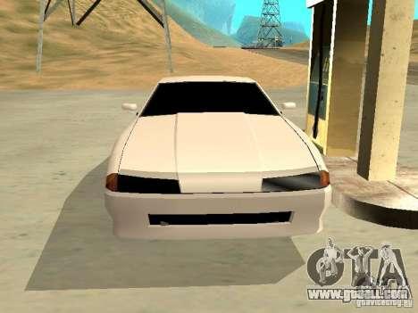 New Elegy v.1 for GTA San Andreas inner view