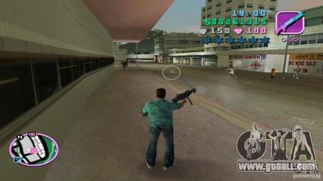 Shooting With One Hand for GTA Vice City second screenshot