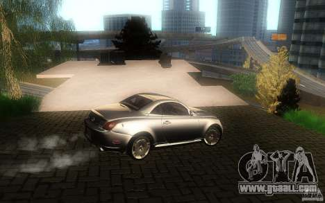 Lexus SC430 for GTA San Andreas side view