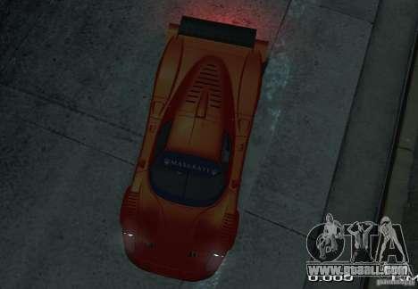 Maserati MC12 R for GTA 4 right view