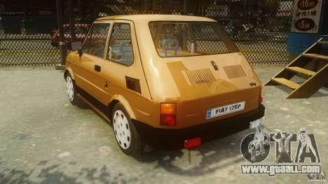 Fiat 126p FL Polski 1994 Wheels 2 for GTA 4 back left view