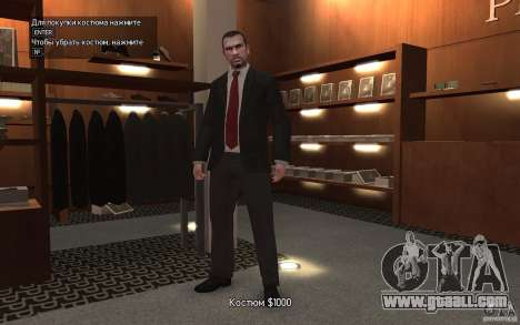 Open jackets with ties for GTA 4 forth screenshot