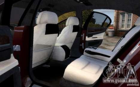 BMW 760Li 2011 for GTA 4