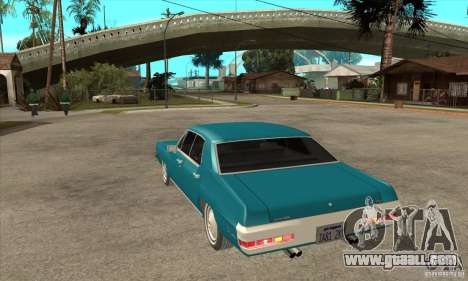 Pontiac LeMans for GTA San Andreas back left view