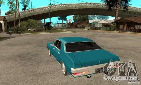 Pontiac LeMans for GTA San Andreas back left view