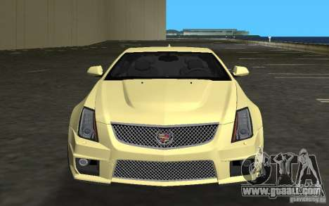 Cadillac CTS-V Coupe for GTA Vice City left view