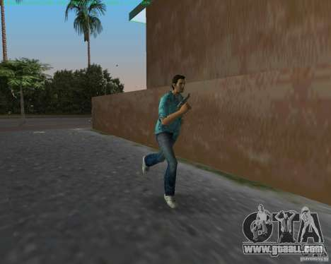 USP-45 in a desert dying of for GTA Vice City third screenshot