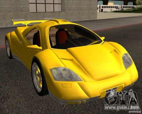 Conceptcar Nimble for GTA San Andreas right view