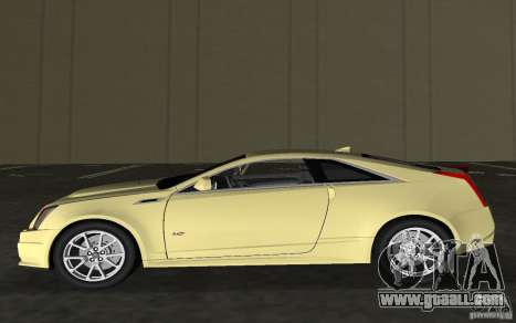 Cadillac CTS-V Coupe for GTA Vice City inner view