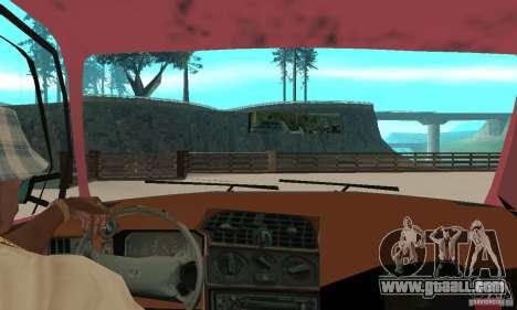 Saab 9000 for GTA San Andreas back view