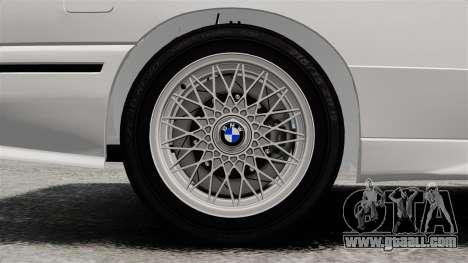 BMW M3 E30 v2.0 for GTA 4 side view