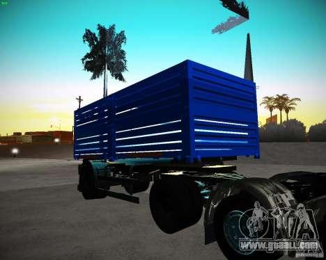 Kamaz 65117 Grain trailer for GTA San Andreas