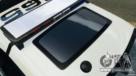 Dodge Challenger SRT8 392 2012 Police [ELS][EPM] for GTA 4 engine