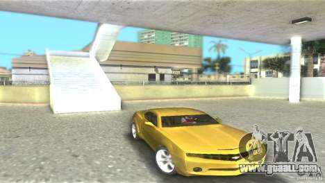 Chevrolet Camaro for GTA Vice City back view
